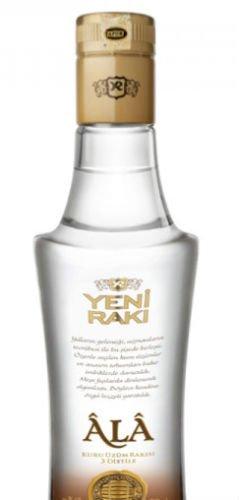 1 Flasche Yeni Raki Ala Triple Distilled a 200ml 47% Vol. Türkische Spezialität -
