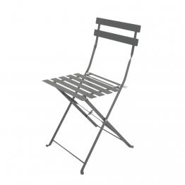 2 Klappgartenstühle aus Metall