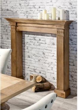 Kaminumrandung Maurice aus Holz