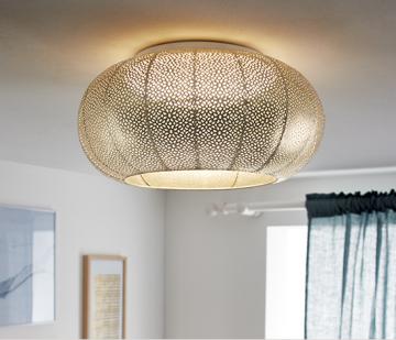 LED-Wand- und -Deckenleuchte lochmuster
