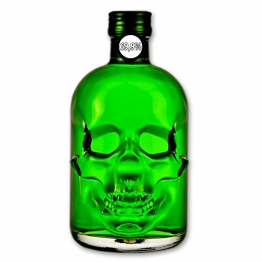 "Absinthe ""Amnesie"" - 50cl - 69,9% Vol. alc. - Skull Bottle - 1"