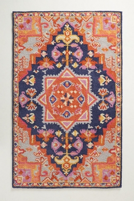 Amerita Teppich - Orange Motif