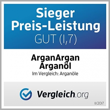 ARGANARGAN Bio-Arganöl geröstet 250ml, kaltgepresst, DLG-GOLD prämiert, SIEGER PREIS-LEISTUNG (vergleich.org), vegan, Gourmet-Speiseöl - 3