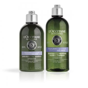 Aromachologie Sanfte Balance Duo Shampoo & Haarspülung - L'Occitane en Provence