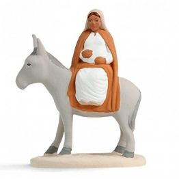 Arterra Krippenfiguren Provence–Maria von Adventskalender auf der Esel Die weißen Collection 7cm - 1