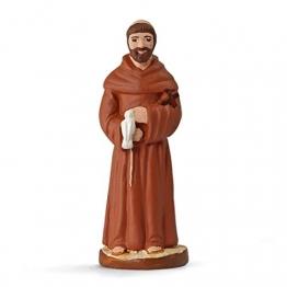 Arterra Krippenfiguren Provence–Saint Franz von Assisi–Collection 7cm - 1