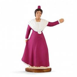 Arterra Krippenfiguren Provence–Tänzerin von köstlichen von Anfang–Kleid Rot–Collection 9cm - 1