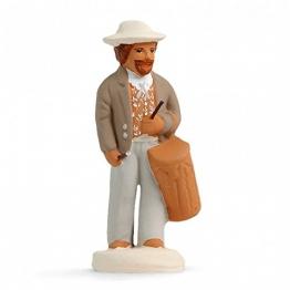 Arterra Krippenfiguren Provence–tambourinaire Herren Die weißen Collection 7cm - 1