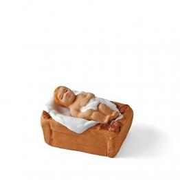 Arterra Santons De Provence–Jesus und Seiner Wiege–Collection 7cm - 1