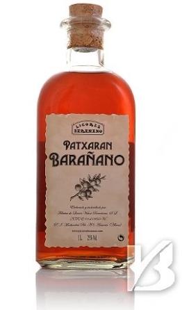 aus Spanien Pacharan Schlehenlikör, Patxaran Barañano - 1
