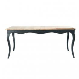 Ausziehbarer Esstisch aus Mangoholz, H 180cm Versailles