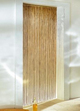 Bambus-Vorhang in 2 Farben