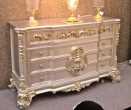 Barock Kommode Anrichte für Schlafzimmer Antik Stil