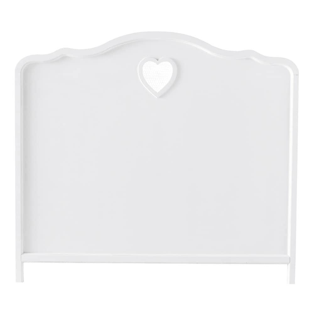 Bett-Kopfteil aus Holz, B 140 cm, weiß Valentine - Shop ...