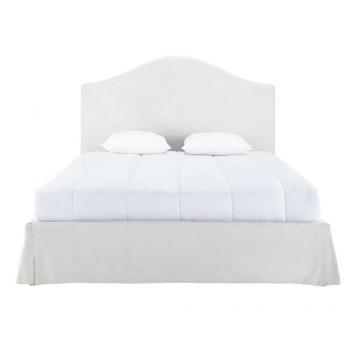 Beziehbares Bett aus Leinen, 160x200 Danceny