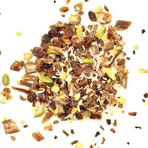 Bio Datteltee Dattel Tee ayurvedische Pitta Mischung ✔ Tea Chay Chai lose ✔ Teemischung ✔ ohne Zusatzstoffe, Aromastoffe & Konservierungsstoffe, 100g - 1