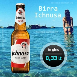 Birra Ichnusa -klein- (05 Flaschen à 0,33 Lt) -Bier aus Italien (Sardinien) 8,50 EUR - 1
