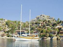 Blaue Reise Türkische Riviera