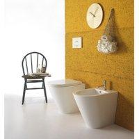 Bodenstehendes BIDET - forty3 - 52 x 36 cm - cod FO010 - Ceramica Globo | Weiß - Globo BI - CERAMICA GLOBO S.P.A.