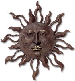 Bronzerelief ´Große Wandsonne´, Skulptur