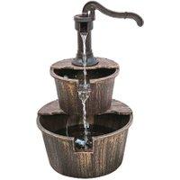 Brunnen 'THALASSO' in Holzoptik,1 Stück