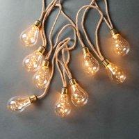 BULB LIGHTS Glühbirnenlichterkette 10 Lichter