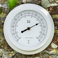 Burgon & Ball Design-Thermometer, 22x5 cm, weiß