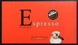 Caffè Vergnano 1882 Espresso ESE pads, 2er Pack (2 x 18 Stück, 2 x 125 g) - 1
