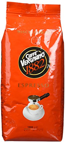Caffè Vergnano 1882 Espresso Ganze Bohnen, 1er Pack (1 x 1 kg) - 1