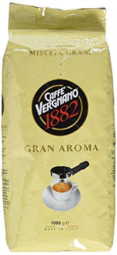 Caffè Vergnano 1882 Gran Aroma Ganze Bohnen, 1er Pack (1 x 1 kg) - 1