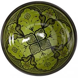 Casa Moro Handbemalte Handmade Keramik Schüssel Schale KS66 aus Marokko - 1