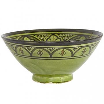 Casa Moro Handbemalte Handmade Keramik Schüssel Schale KS66 aus Marokko - 3