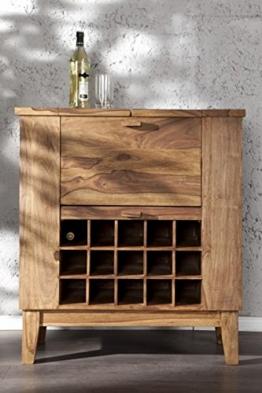 Casa Padrino Bar Wein Schrank - Whiskey Schrankbar Antik Stil - Jugendstil Whiskeyschrank Weinschrank Barschrank - 1