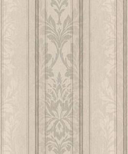 Casa Padrino Barock Textiltapete Creme/Grau/Anthrazit 10,05 x 0,53 m - Wohnzimmer Tapete - Deko Accessoires - 1