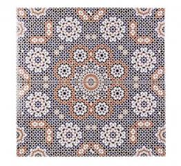 Cerames Marokkanische Wandfliesen Keramikfliese orientalisch Bandar | 25 x 50 cm 1m² | Mosaik-Muster, maurische Fliese | Schöne Dekoration im Bad & Küchenrückwand - 1