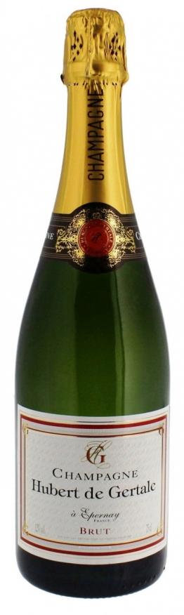 Champagne Hubert de Gertale brut AOC - Champagne Hubert de Gertale, 0.75 l