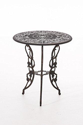 clp sitzgruppe ganesha garten set gusseisen antik tisch rund 65 cm bronze shop ambiente. Black Bedroom Furniture Sets. Home Design Ideas