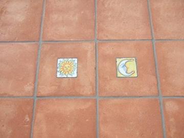 Cotto Hof - Peruggia Musterfliesen 30 x 30 x 3 cm, vorbehandelt inkl. Versand & Verpackung - 1