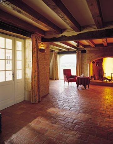 Cotto-Stone Périgord | Bodenplatten | Fliesen | Terracotta | Cotto | Terrasse | Musterplatte (Rot) - 3