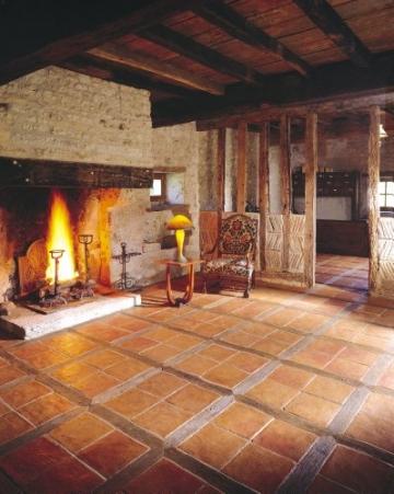 Cotto-Stone Périgord | Bodenplatten | Fliesen | Terracotta | Cotto | Terrasse | Musterplatte (Rot) - 4