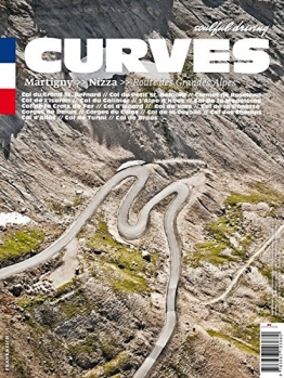 CURVES Frankreich: Band 1: Martigny - Nizza. Route des Grandes Alpes - 1