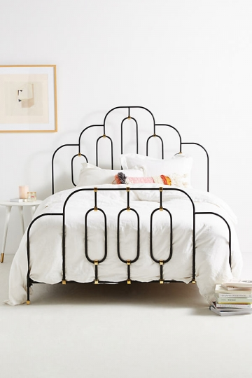 Deco Bett - Light Grey
