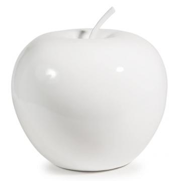 Deko Apfel Apple Aus Kunstharz H 35 Cm Weiß Shop Ambiente Mediterran