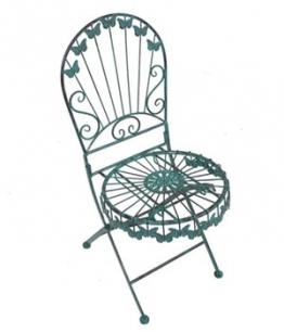 Deko-Stuhl mit Schmetterlingsmotiv, 2er-Set