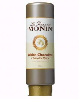 Dicke Sauce von Monin mit Weisser Schokolade 500 ml
