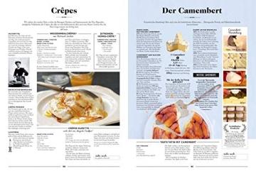 Die Gourmet-Bibel Frankreich: Absolut alles über die französische Küche: Absolut alles ber die franzsische Kche - 8