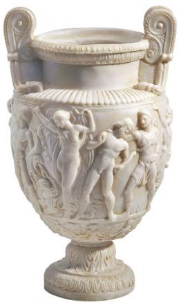 Dionysien-Prunkvase (Reduktion), Kunstmarmor