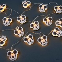 DISNEY LED Papierlichterkette Mickey 20 Lichter