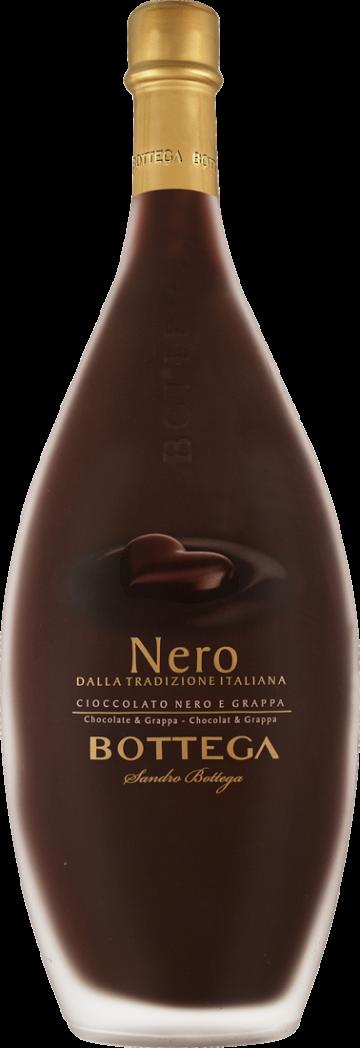 Distilleria Bottega Dunkler Schokolade-Likör Nero 15% vol. 0,5l Venetien 29,98€ pro l