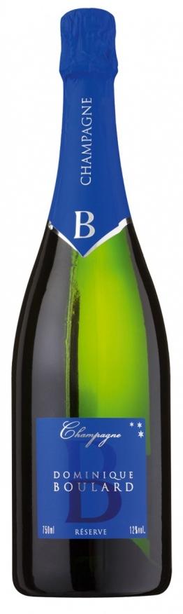 Dominique Boulard Reserve Champagne AOC - Dominique Boulard, 0.75 l